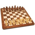 Wood Expressions 19'' Root Chess Set in Walnut