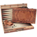 Wood Expressions 15'' Backgammon in Camphor