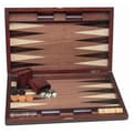 Wood Expressions Backgammon Set with Wood Inlay