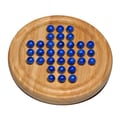 Wood Expressions Marble Solitaire in Blue
