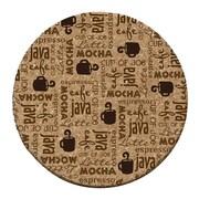 Thirstystone Coffee Break Cork Coaster Set (Set of 6)