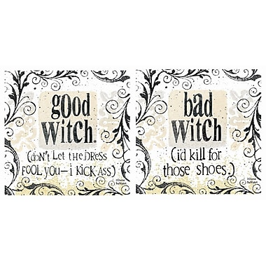 Thirstystone 2 Piece Witchy Occasions Coasters Set