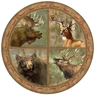 Thirstystone Wildlife Collage Coaster (Set of 4)