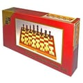 Wood Expressions Chess Set with Folding Walnut Board Game