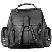 David King Mid Size Top Handle Backpack; Black