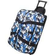 Wildkin Good Times Camo Rolling Duffel Bag