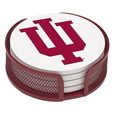 Thirstystone 5 Piece Indiana University Gift Set Collegiate Coaster
