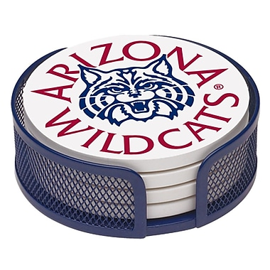 Thirstystone 5 Piece University of Arizona Collegiate Coaster Gift Set