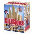 Citiblocs 100 Piece Building Block Set; Natural