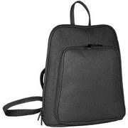 David King Adjustable Shoulder Strap Backpack; Black
