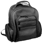 David King U-Shaped Oversized Laptop Backpack; Black