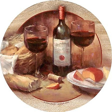 Thirstystone Wine & Cheese Coaster (Set of 4)