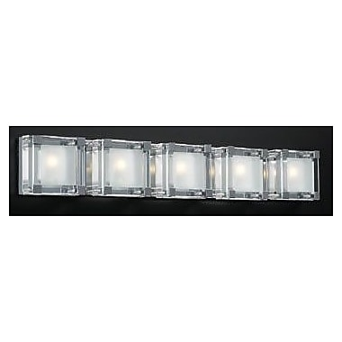 PLC Lighting Corteo 5-Light Bath Bar