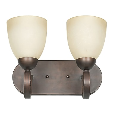 Sunset Lighting Provano 2 Light Vanity Light