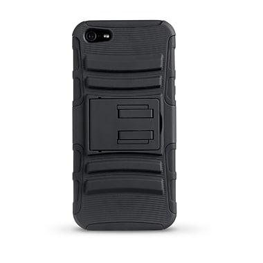 iessentials iPhone 5 Rugged Stand Case; Black