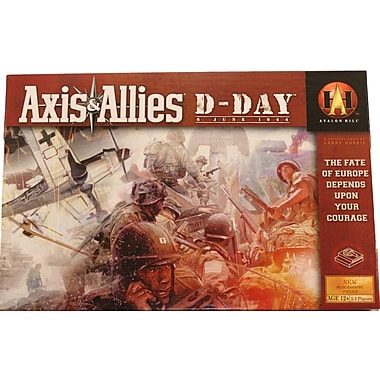 Wizards of the Coast Axis and Allies D-Day Board Game