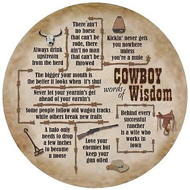 Thirstystone Cowboy Wisdom Coaster (Set of 4)
