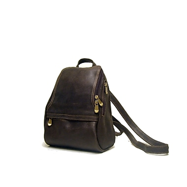 Le Donne Leather Distressed Leather U-Zip Women's Backpack