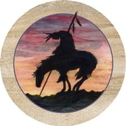 Thirstystone Trail's End Coaster (Set of 4)