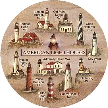 Thirstystone Lighthouses Coaster (Set of 4)