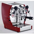 La Pavoni Cuadra Commercial Espresso Machine; Red