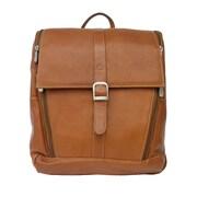 Piel Slim Computer Backpack; Saddle
