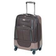 Mancini Bristol-2 Spinner Suitcase; Coffee