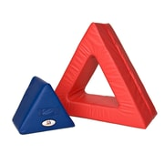 Foamnasium Triangle In Triangle Block; Blue and Red