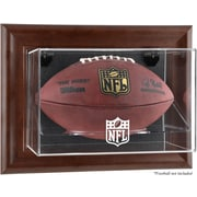 Mounted Memories NFL Wall Mounted Logo Football Case; NFL All Teams
