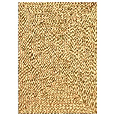 Acura Rugs Jute Natural Area Rug; 8' x 10'6''