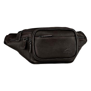 Mancini Colombian Classic Waist Bag; Cognac