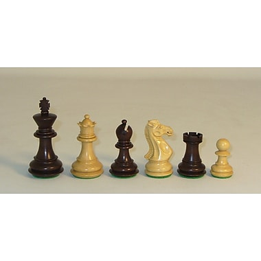 Checkmate Walnut Stained Exclusive Chessmen