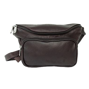Piel Adventurer Large Classic Waist Bag; Chocolate