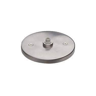 Tiella MonoPoint Round Flush Canopy; Satin Nickel