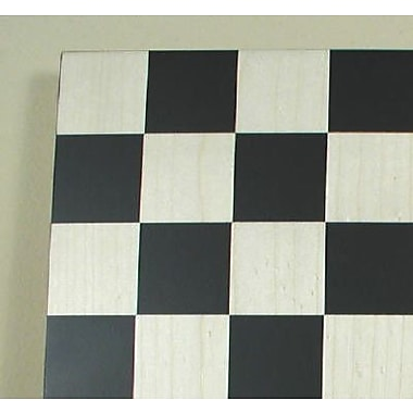 Ferrer 14'' Basic Chess Board in Black / Maple