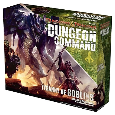 Wizards of the Coast Dungeons and Dragons: Dungeon Command Tyranny of Goblin Board Game