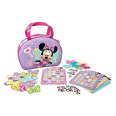 Wonder Forge Disney Minnie Mouse Bowtique Bingo Game
