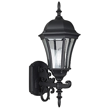 Sunset Lighting 1 Light Outdoor Sconce; Rubbed Bronze