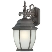 Thomas Lighting Covington 1 Light Wall Lantern; Painted Bronze