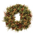 National Tree Co. Pre-Lit 30'' Juniper Mix Pine Wreath