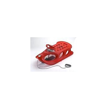 KHW Sleds Snow Shuttle De Luxe in Red