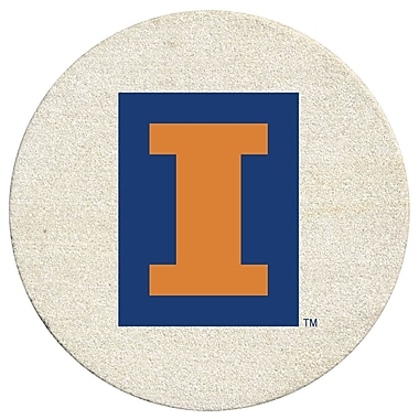 Thirstystone University of Illinois Collegiate Coaster (Set of 4)