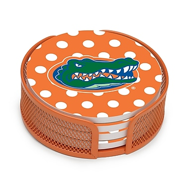 Thirstystone 5 Piece University of Florida Dots Collegiate Coaster Gift Set