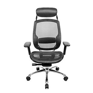 At The Office 1 Series High-Back Mesh Office Chair with Pivot Armrests