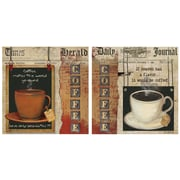Thirstystone 2 Piece Coffee Heaven-Love Occasions Coasters Set
