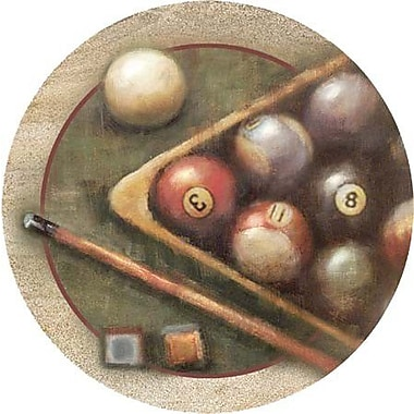 Thirstystone Nostalgic Billiards Coaster (Set of 4)