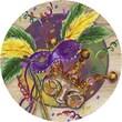 Thirstystone Mardi Gras Masks Coaster (Set of 4)