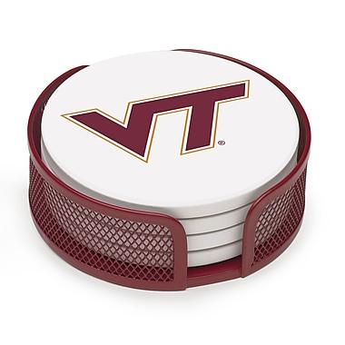 Thirstystone 5 Piece Virginia Tech Collegiate Coaster Gift Set