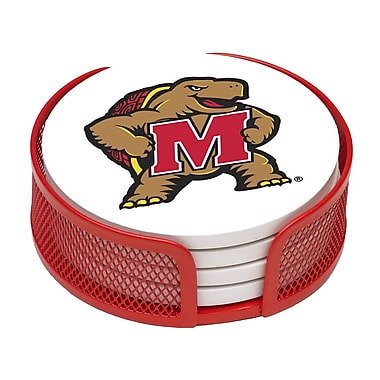 Thirstystone 5 Piece University of Maryland Collegiate Coaster Gift Set