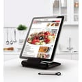 Prepara iPrep Tablet Stand and Stylus; Black